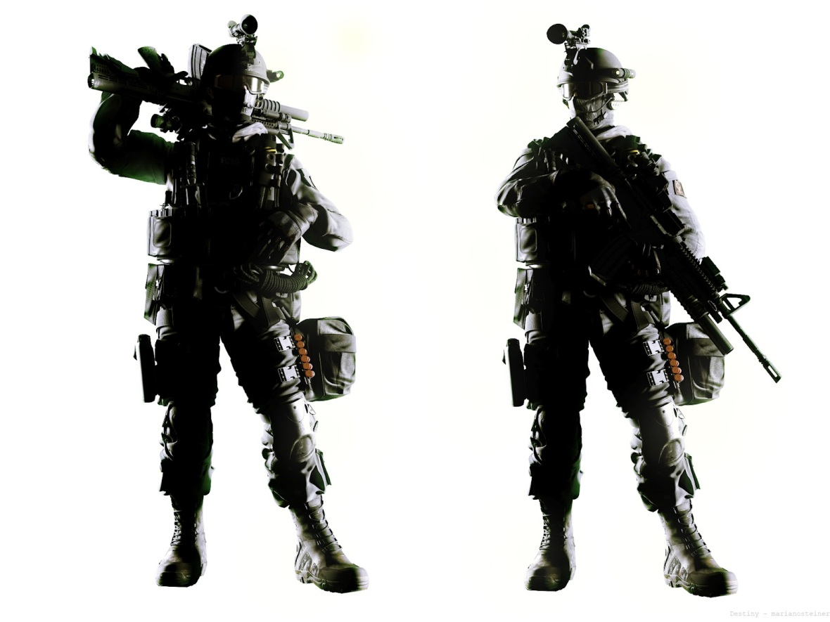 SOldier_pose